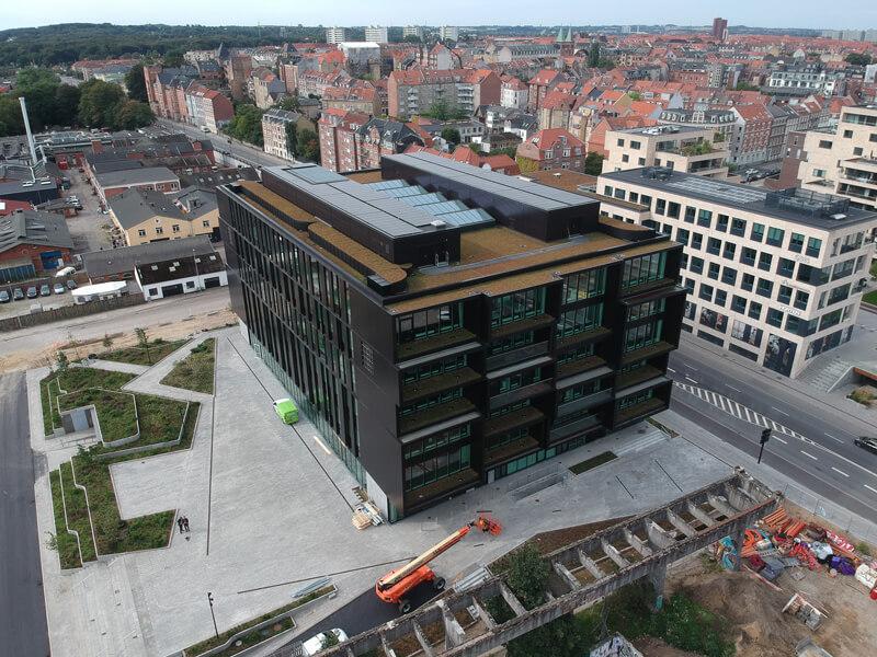 Danske Banks domicil i Aarhus
